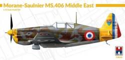 Morane-Saulnier MS-406 Middle East