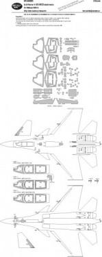 Su-33 Flanker-D ADVANCED kabuki masks