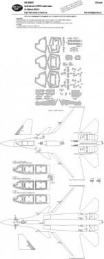 Su-33 Flanker-D EXPERT kabuki masks