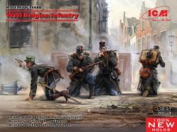 WWI Belgian Infantry (100% new molds)