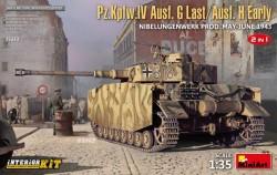 Pz.Kpfw.IV Ausf.G-Last/H-Early Nibelungenwerk Prod(May-June1943)2in1