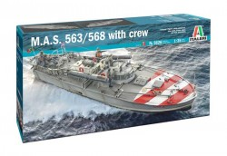 M.A.S. 563/568 with crew