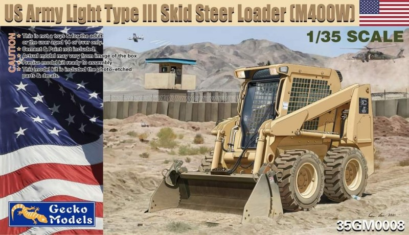 US Army Light Type III Skid Steer Loader (M400W)