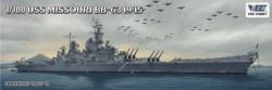 USS Battleship Missouri BB-63 1945 - Deluxe