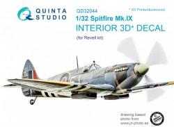 Spitfire Mk. IX Interior 3D Decal