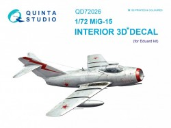 MiG-15 Interior 3D Decal