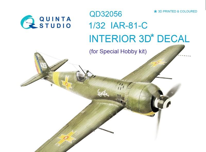 IAR - 81C Interior 3D Decal
