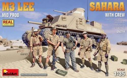 M3 Lee Mid Prod. Sahara w/Crew