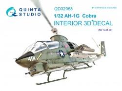 AH-1G Cobra Interior 3D Decal