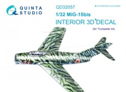 MiG-15bis Interior 3D Decal
