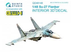 Su-27 Interior 3D Decal