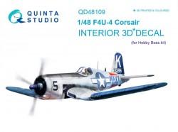 F4U-4 Interior 3D Decal