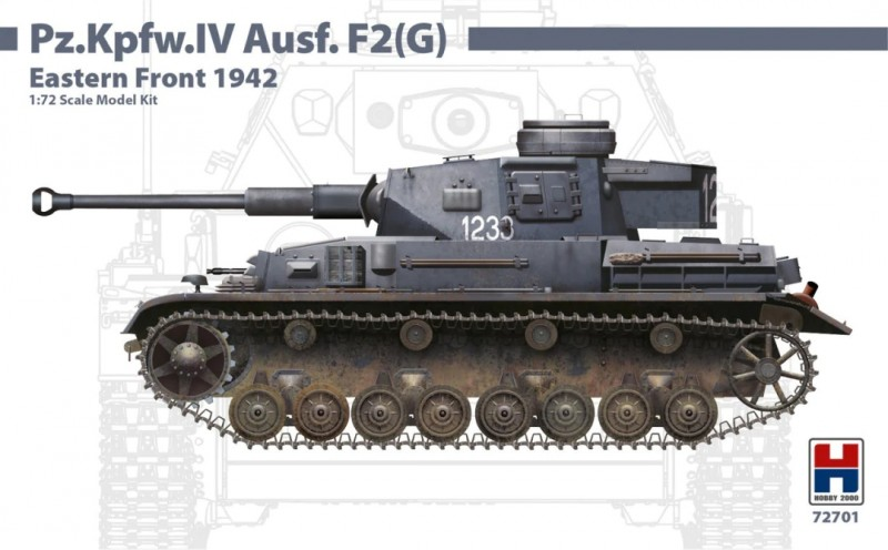 Pz.Kpfw.IV Ausf.F2 (G) Eastern Front 1942