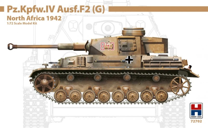 Pz.Kpfw.IV Ausf.F2 (G) North Africa 1942
