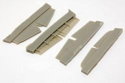 Mitsubishi J2M Raiden control surfacers