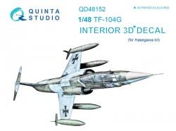 TF-104G Interior 3D Decal