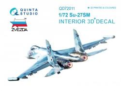 Su-27SM  Interior 3D Decal