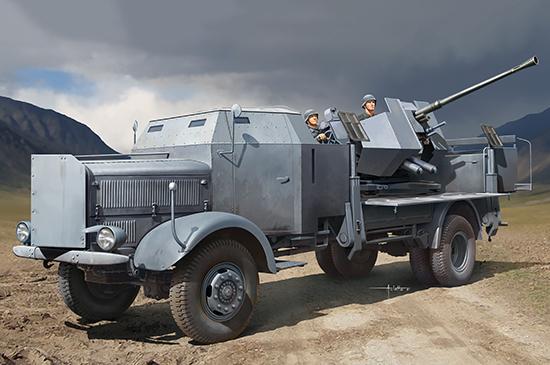 L4500A mit 3.7cm Flak 37