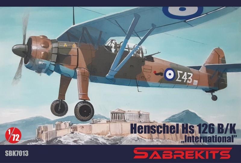Henschel Hs 126B/K International