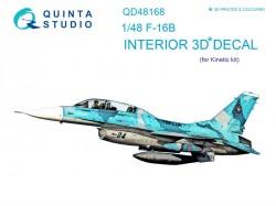 F-16B Interior 3D Decal