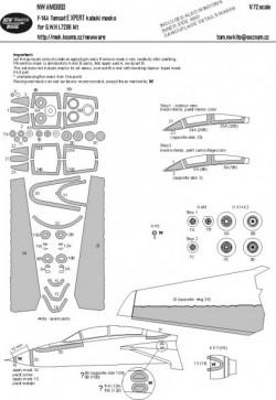 F-14A Tomcat EXPERT kabuki masks