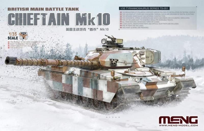 British Main Battle Tank Chieftain Mk10