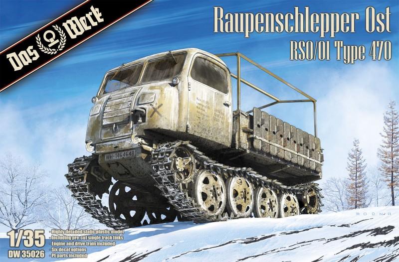 Raupenschlepper Ost - RSO /01 Type 470