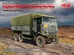 Leyland Retriever General Service, WWII British Truck