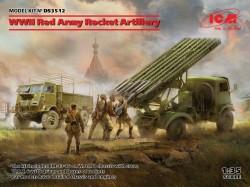 WWII Red Army Rocket Artillery (BM-13-16 MLRS Crew, RKKA Drive