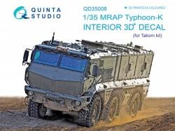 MRAP Typhoon-K Interior 3D Decal
