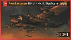 Avro Lancaster B MkI/ B MkIII/ Dambuster 3in 1