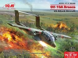 OV-10 Bronco, US Attack Aircraft (100% new molds)