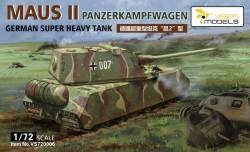 Pz.Kpfw. VIII Maus II - German Super Heavy Tank