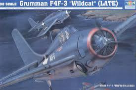 """Grumman F4F- 3 """"Wildcat"""" (late)"""