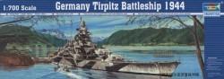 Germany Battleship Tirpitz 1943
