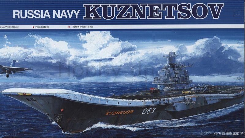 Russian Navy Aircraft Carrier  KUZNETSOV