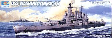 USS WASHINGTON BB-56