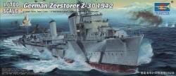 German Zerstorer Z-30, 1942