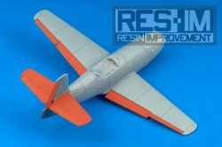 YAK-23 – control surfacers