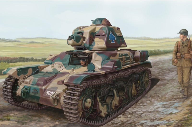 French R35 Light Infantry Tank