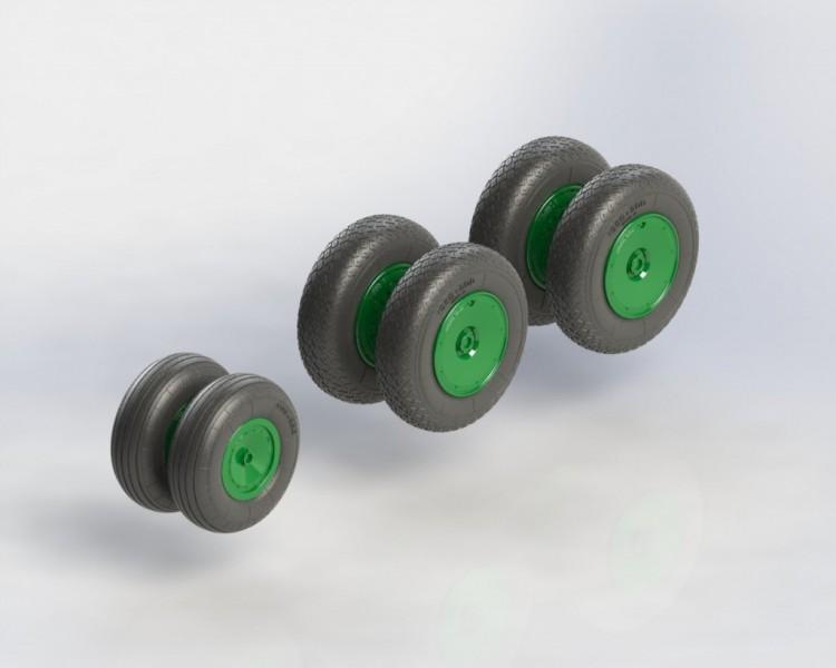 An-10, An-12 wheels set No mask series
