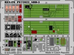 SBD-3 Dauntless - Interior