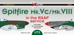 Spitfire Mk.Vc/Mk.VIII RAAF