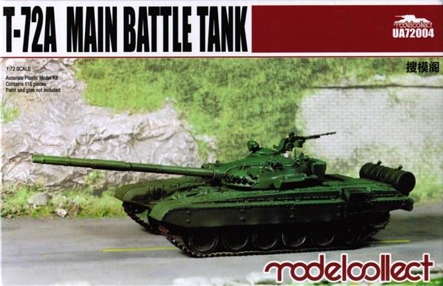 T-72A Main battle tank