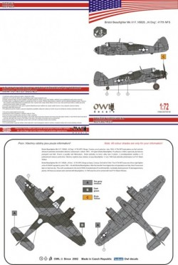 Beaufigter Mk VI NF - US version