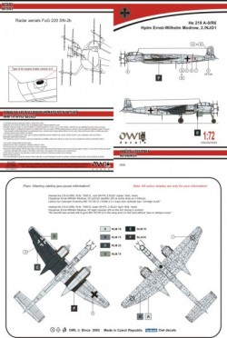 He 219 A-0 G9+FK (W. Modrow)
