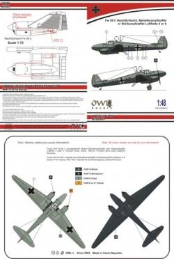 Fw 58 Weihe Nachtschlacht