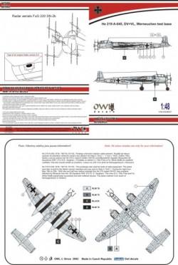 He 219 A-0 DV+DL (Fries/Staffa)
