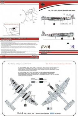 He 219 V133 DV+DI (catapult test machine)