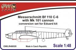 Bf 110C-6 mit MK 101 conversion set without decals